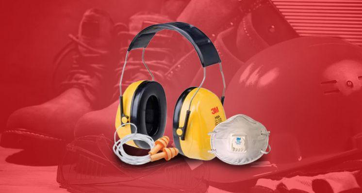 Protetores Auriculares e Respiratórios